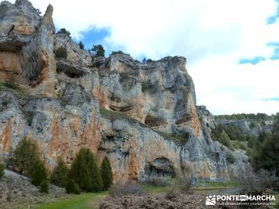 Integral Cañón Río Lobos; rutas senderismo comunidad de madrid; senderismo viajes;senderismo mara